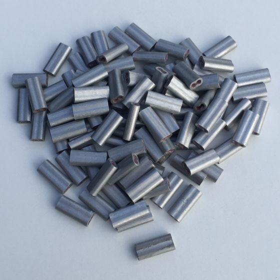 Alu samlere 1,6-2,5mm. 100 stk.