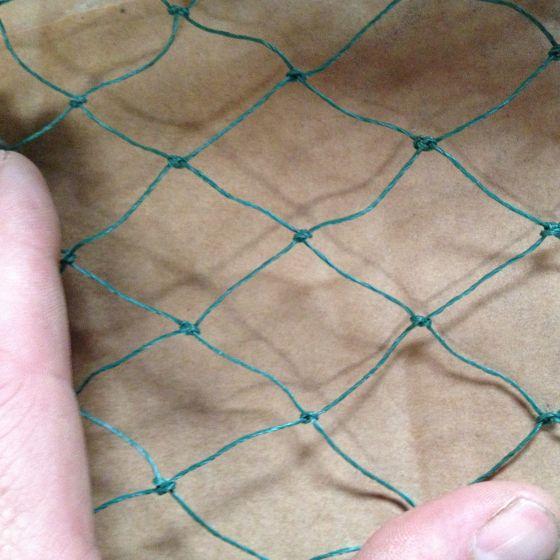 Net til Fuglevoliere / fuglebeskyttelse 3x3 cm 8x30 meter