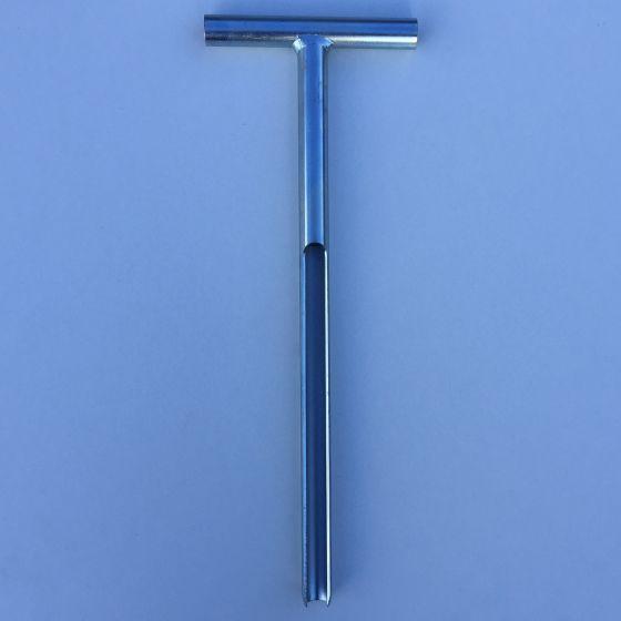 Jordprøvebor/spyd 42 cm.
