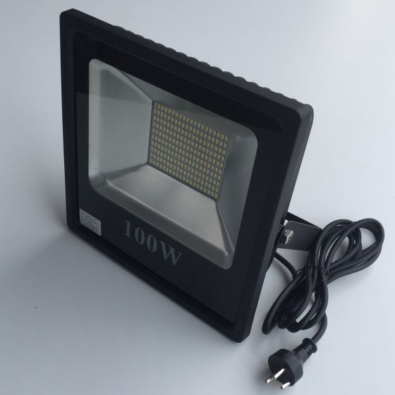 Led Projektør 100w 11000 lumen.