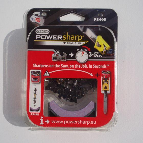 PowerSharp kæde  inkl. slibesten
