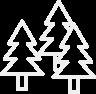 Trykimprægnerede hegnspæle / hjørnepæle
