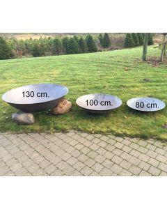 Bålfad støbejern 90cm. 20 kg.
