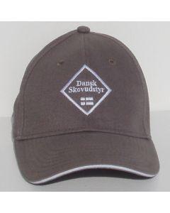 Cap med Dansk Skovudstyr logo