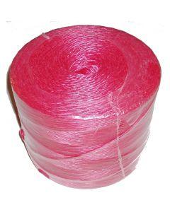 Polycordel Rød ( 1400m ) 2 kg.  700 m/kg
