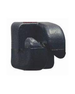 Isolator 10 mm. til tentorpæl 100 stk.