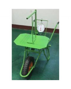 Pyntegrøntsvægt trillebør til 25 kg.