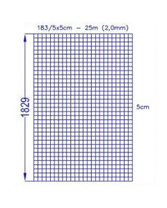 Volieretråd 183/5x5 (25m)