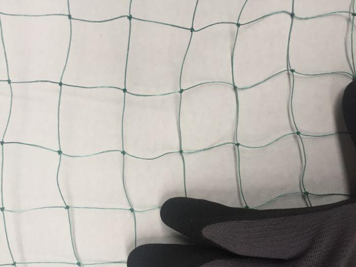 Net til Fuglevoliere / fuglebeskyttelse 3x3 cm 4x25 meter