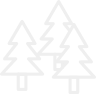 Sidebrædder til juletræspalle (stykpris)
